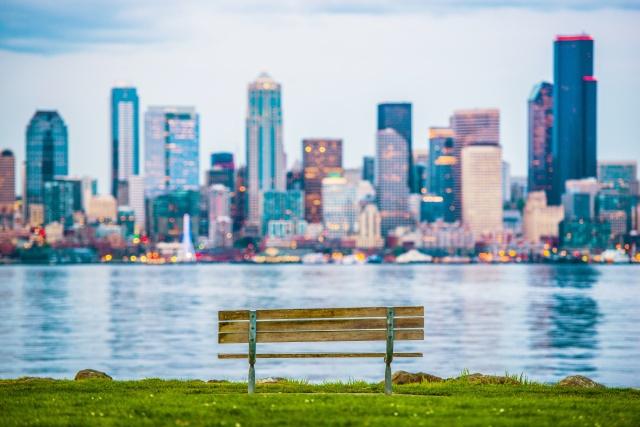 Seattle Vista Bench